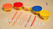 Play Doh Candy Sticks | Candy Sticks | Play Doh Candy Sticks | Kids Candy Sticks