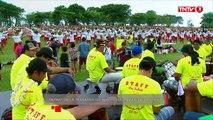Tahiti: près de 3.000 Polynésiens dansent le Ori Tahiti