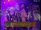 Ric Flair vs Randy Savage, WCW Monday Nitro 22.01.1996
