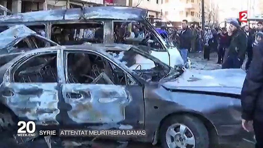 Syrie : plus de 60 personnes tuées dans un attentat à Damas