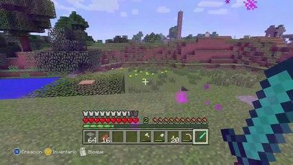 Minecraft Supervivencia En Xbox 360 - Rafyta VS Ghast - Dentro Del Nether ! #14