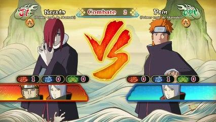 Naruto Shippuden Ultimate Ninja Storm Revolution : DLC Primer Traje Akatsuki Yahiko Konan Nagato #2