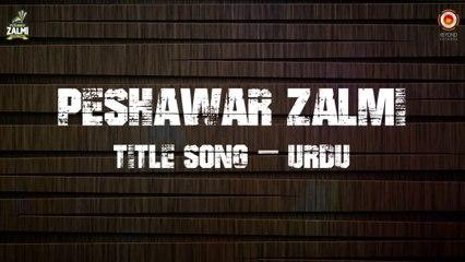 Peshawar Zalmi Official Theme Song by Arbaz Khan ft. Zohaib Amjad - Lyric Video (PSL 2016)