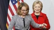 Gabby Giffords endorses Clinton before Iowa caucus
