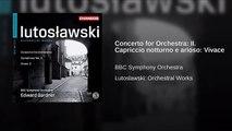 Concerto for Orchestra: II. Capriccio notturno e arioso: Vivace (World Music 720p)