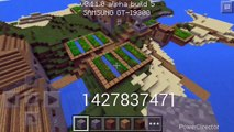 BEST VILLAGE SEED?!!!?Mcpe[0.11.0] Village Island Seed Review W/BlackSmith