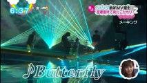 160122 ニュースまとめ [めざましテレビ、ZIP!] Bump of Chicken [Butterfly] MV メーキング