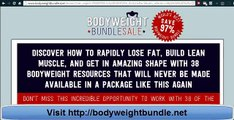 Bodyweight Bundle   Is This Bodyweight Exercise Sale Legit
