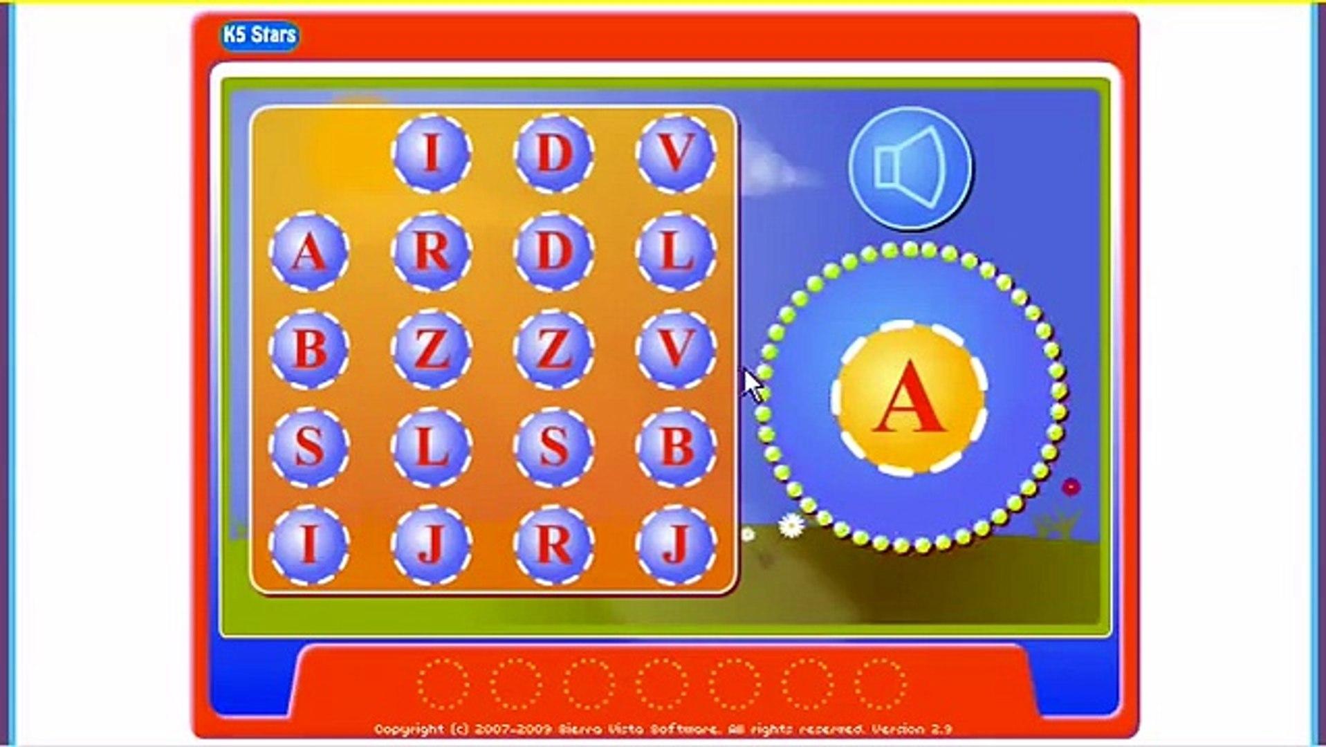 K5 Stars - 300 Fun Online Games for kids education