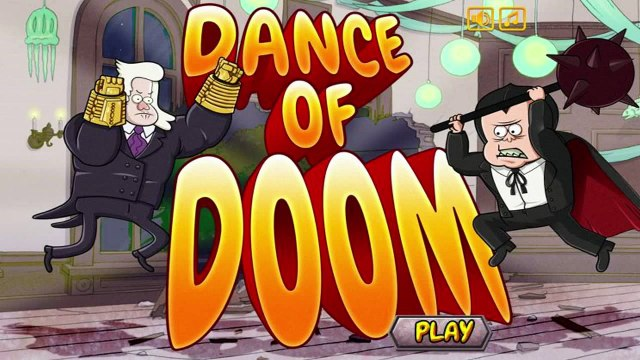 Regular Show - Dance Of Doom Game - Regular Show Games