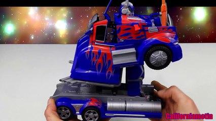 Transformers 4 Autobot Optimus Prime Radio Control Robot Nikko Truck Review Toy