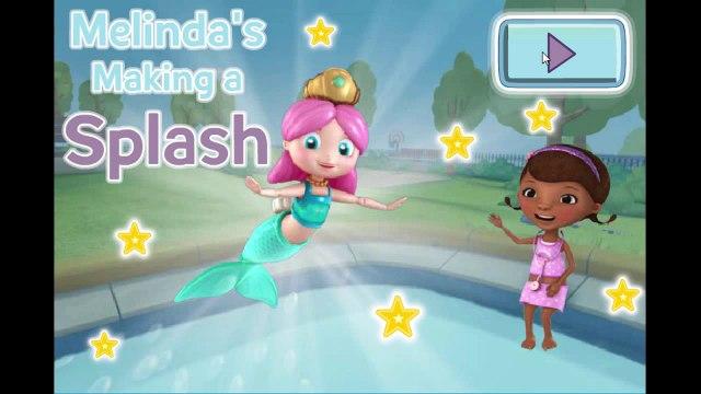 Disney Jr Doc McStuffins Melindas Making a Splash Cartoon Animation Game Play Walkthrough