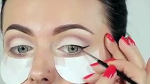 Neutral Eyes and Bold Lips Makeup Tutorial