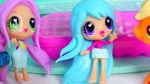 Sleep Over with Kawaii Crush BFFs Dolls and My Little Pony Applejack POP MLP - Toy Play Vi