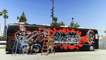 TEKKEN TAG TOURNAMENT 2 + Snoop Dogg Bus: Graffiti by Sket-One -- E3 2012