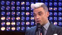Interview with Robbie Williams at Volkswagen Group Forum DRIVE