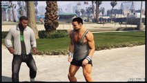 GTA 5 Stunts & Funny Moments Mortal Kombat