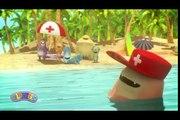 Glumpers, animacion comica El vigilante de la playa! Vacaciones verano en la playa