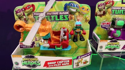 Teenage Mutant Ninja Turtles NEW 2015 Toys Play Sets Cars Action Figures and More By ToysReviewToys