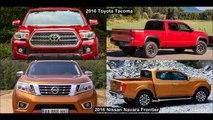 2016 Toyota Tacoma Vs 2016 Nissan Navara Frontier NP300 DESIGN!