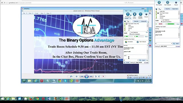 The Binary Options Advantage Live Trading Room 4 Part 1