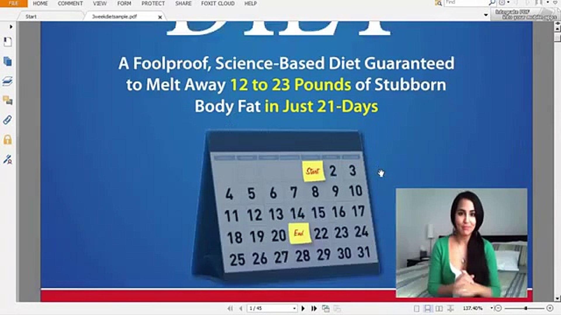 The 3 Week Diet Plan   The 3 Week Diet Review   3 Week Diet Review