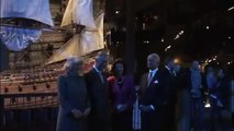Scandinavia Tour: Their Royal Highnesses visit the Vasa Museum with The King and Queen of Sweden