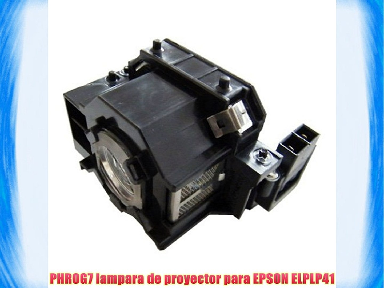 para PHROG7 EPSON lampara proyector de ELPLP41 0XnOPZN8wk
