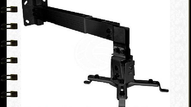 Cablematic - Soporte de pared para proyector de brazo cuadrado de 43 cm a 65 cm
