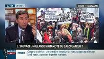 Brunet & Neumann: Affaire Jacqueline Sauvage: François Hollande est-il un président humaniste ou calculateur ? - 01/02