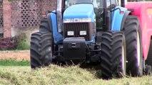 NEW HOLLAND 8870 SS & SUPERTINO BIG BALER Baling Alfalfa 2014 in Italy