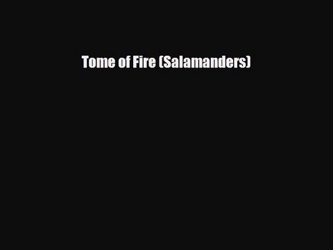 Pdf Download Tome Of Fire Salamanders Read Online Video Dailymotion Tome of fire, occult necklace and thammaron!osrs. dailymotion