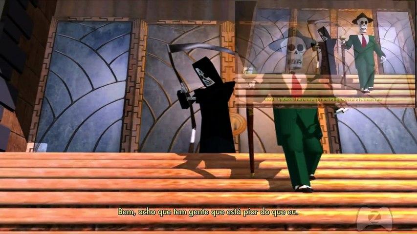Grim Fandango Remastered : Conferindo o Game
