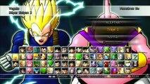 Dragon Ball Raging Blast 2 : Goku Y Vegeta (Vegetto) VS Majin Buu, Super Buu (Gohan), Kid Buu !