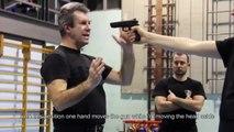KRAV MAGA TRAINING • The fastest gun disarm technique