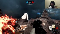 STARWARS BATTLEFRONT FUNNY MOMENTS!! (Starwars Battlefront Gameplay)