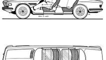 BMW Milestone 3 BMW 3.0 CS, BMW 3.0 CSi, 3.0 CSL, 2800 CS - Technical Drawing
