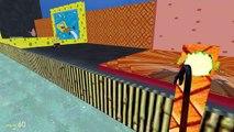 Gmod Deathrun - Spongebob Parody Map! (Garrys Mod Sandbox Funny Moments)