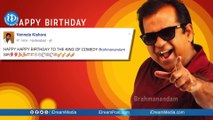 Brahmanandam Birthday    Twitter abuzz with Wishes from celebrities