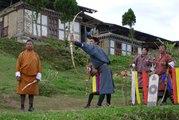 Le tir à l'arc, sport national du Bhoutan