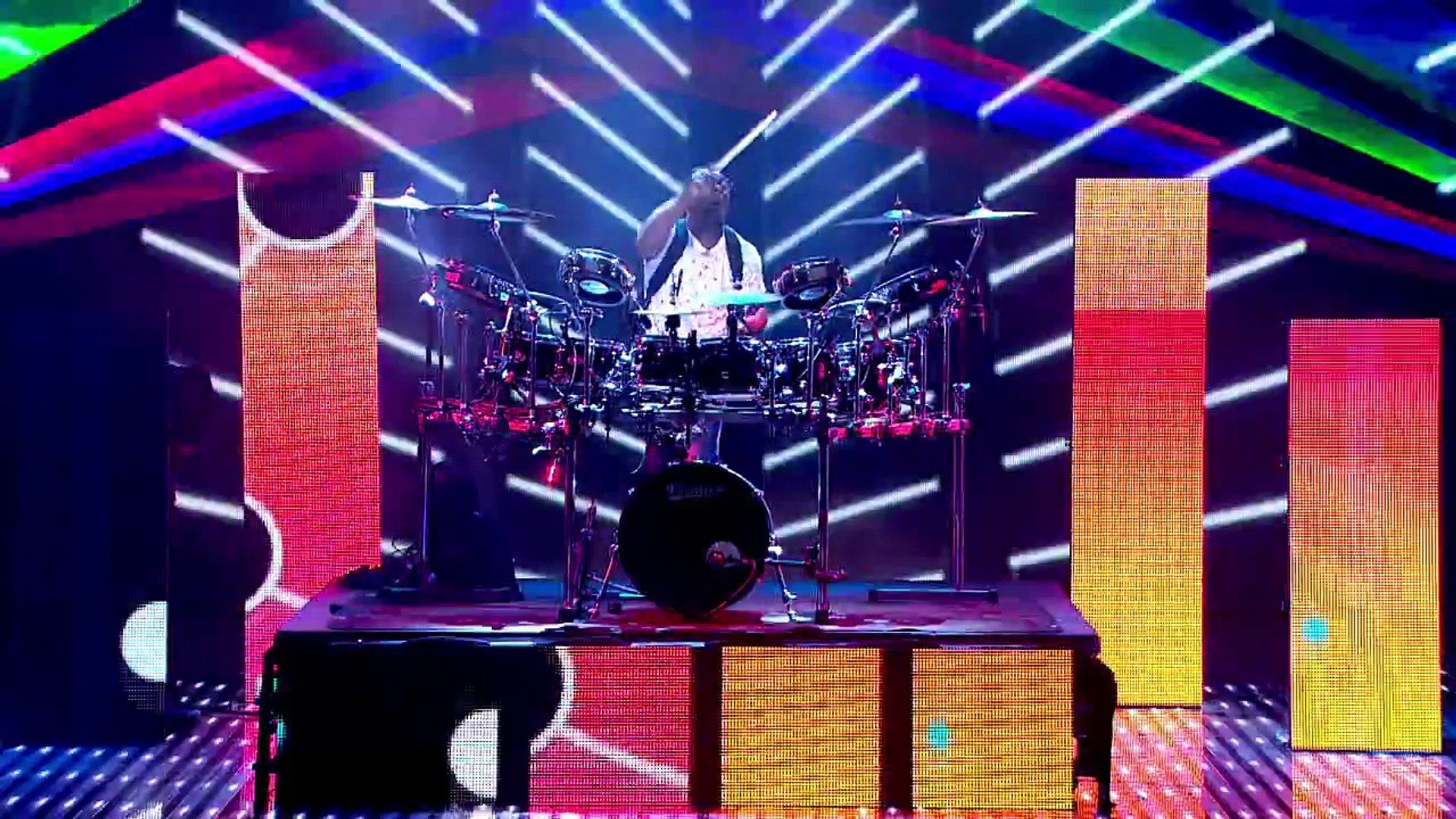 MckNasty bangin\' the drums and DJ decks | Semi-Final 2 | Britain\'s Got Talent 2013