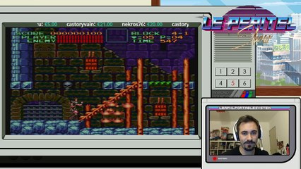 The Peritel Show starring Fred Of The Dead ! : Super Castlevania 4 (4)