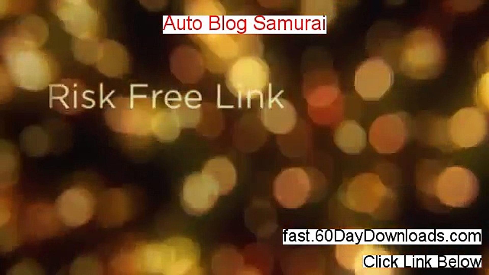Auto Blog Samurai Pro - Auto Blog Samurai Software