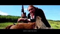 Dans ses publicités russes... Gérard Depardieu fait de plus en plus peur