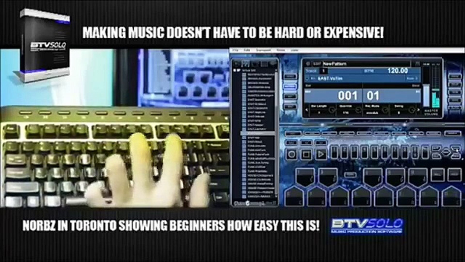Music Recording Software | BTVSOLO Music Production Software