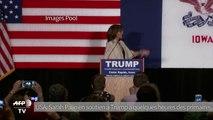 USA: Palin en soutien à Trump à quelques heures des primaires