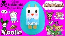 GIANT Tokidoki Moofia Play Doh Surprise Egg| Unicorno Hello Kitty Frenzies Cactus Kitties Donutella