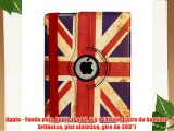 Apple - Funda para Apple iPad 2 3 y 4 (dise?o retro de bandera brit?nica piel sint?tica giro