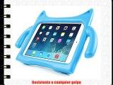 DURAGADGET Funda / Carcasa Infantil Azul Para Apple iPad Air - Dise?o De Monstro Con Cola Soporte