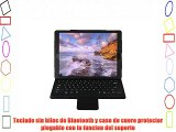 MP power @ Funda Carcasa Caso con QWERTY teclado inalambrico Bluetooth desmontable para Apple